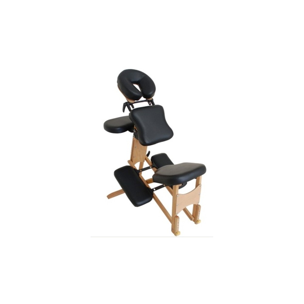 Chaise de massage pliante et portable en bois pas cher toomed - Chaise de massage pas cher ...