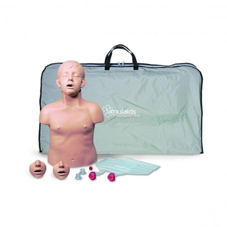Bébé Anne RCP, paquet contenant 4 exemplaires avec sac