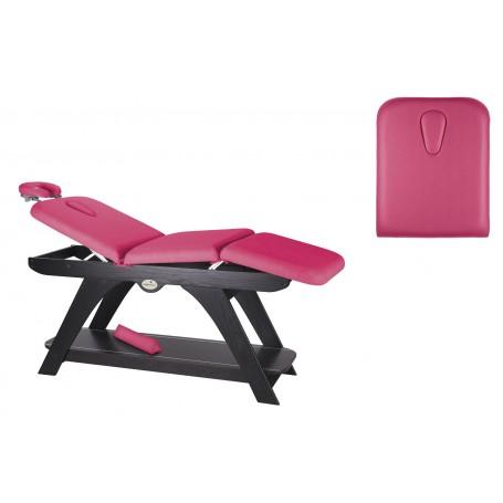 Table de massage fixe en bois