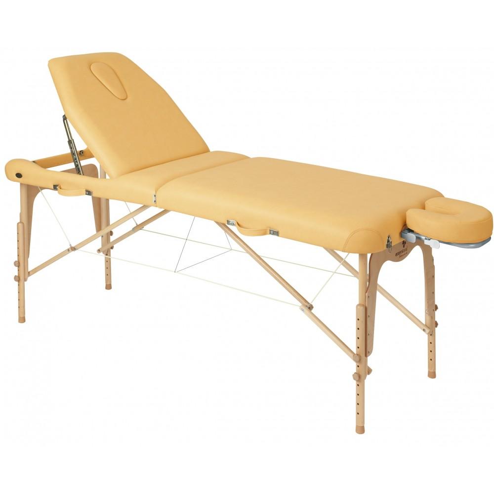 Table massage pliante ecopostural prix int ressant - Table de kine pliante ...