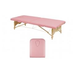 Table de massage pliante en bois avec tendeurs