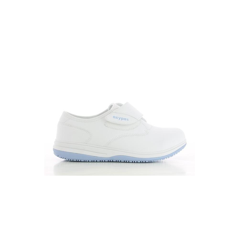 Chaussure infirmière blanche Oxypas Emily hZGlX7Jf39