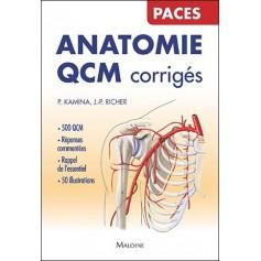 Anatomie : QCM corrigés