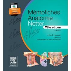 Mémofiches Anatomie Netter - Tête et cou