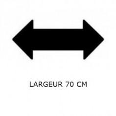 Largeur Plateau 70 cm