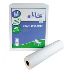 Drap ouate 150F 50X35CM 2X18G Blanc