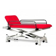 Table divan pédiatrique électrique de forme ciseaux