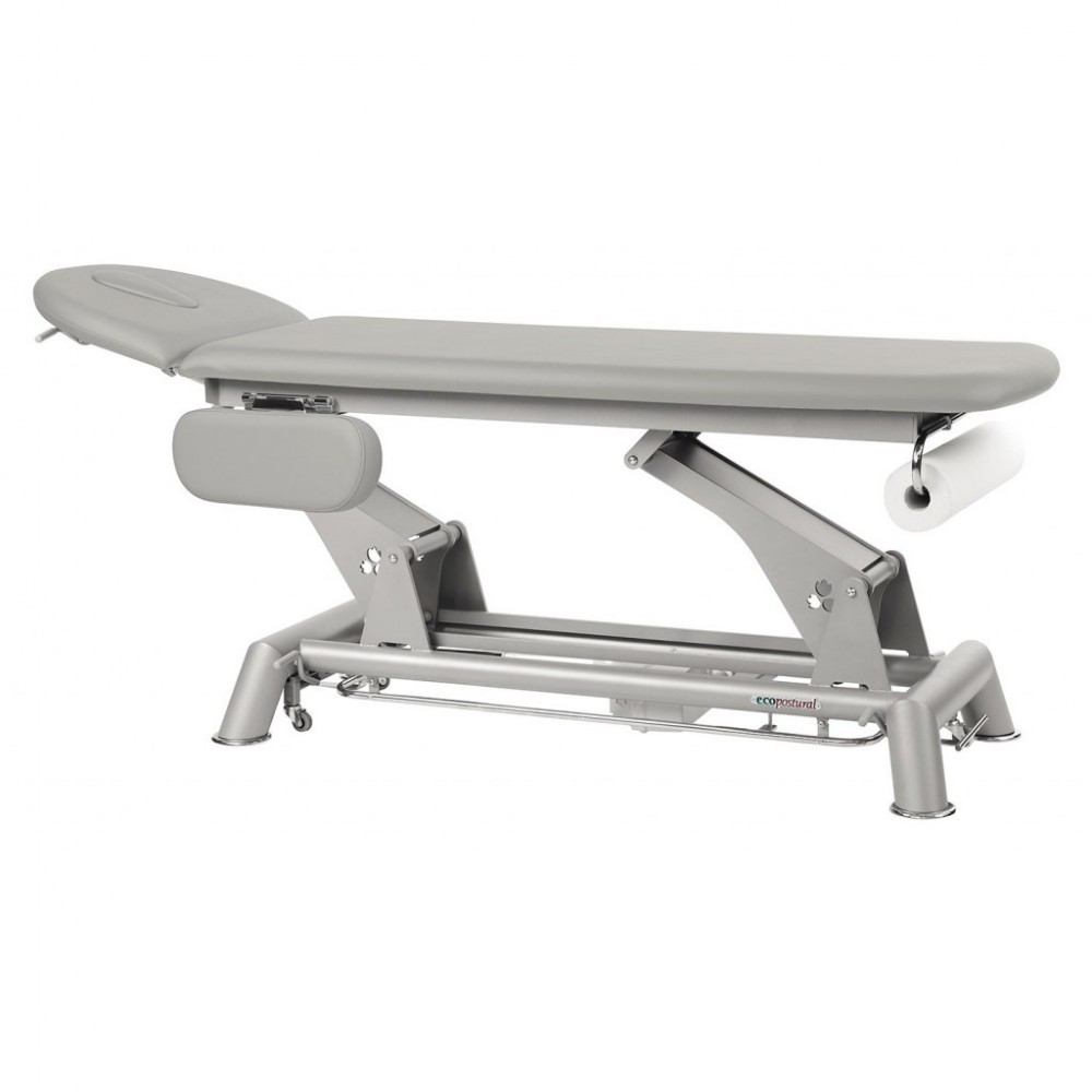 Table de massage lectrique ecopostural avec accoudoir - Table de massage electrique d occasion ...