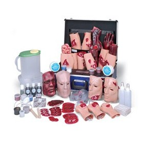 Kit de simulation de blessures IV