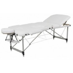 table de massage aluminium dossier relevable
