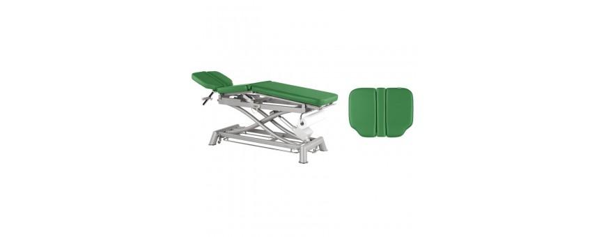Table d'ostéopathie électrique en 3 plans